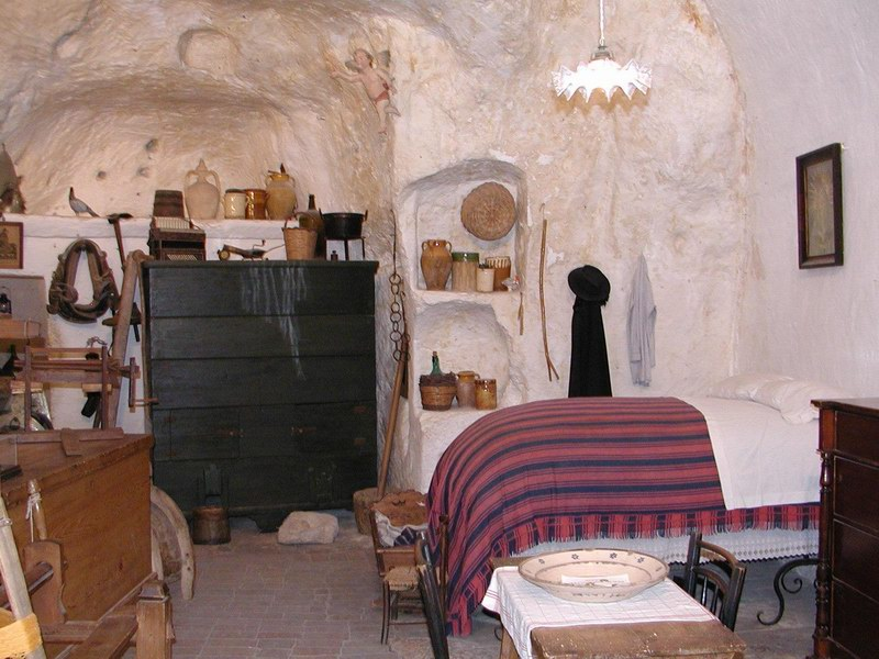 Matera citt dei sassi quello che pochi vedono forum - Sassi decorativi per interni ...