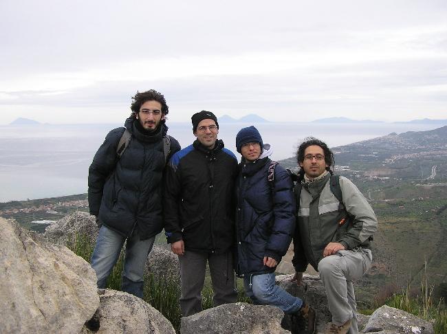 4 naturalisti siciliani sui monti Nebrodi