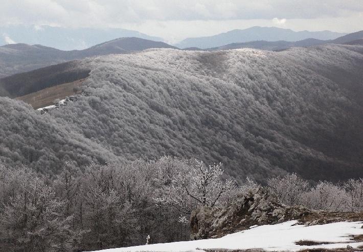inverno - Entra nel parco regionale deiMonti Simbruini