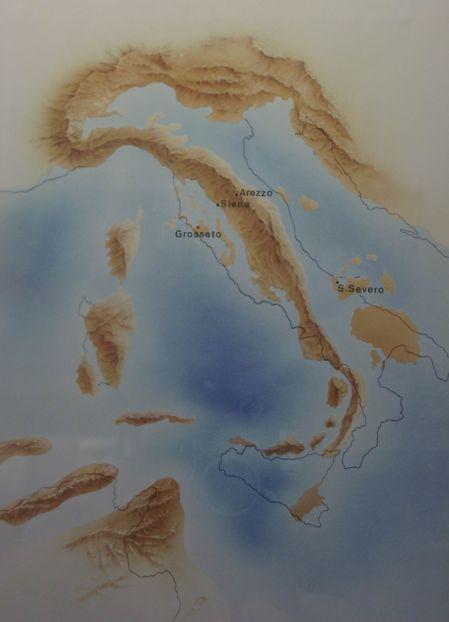 L''Italia durante il Pliocene Inferiore