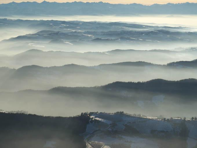 nebbia in Langa
