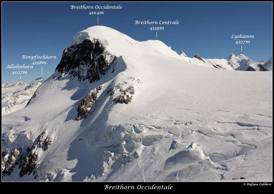 Semplicemente immenso [Breithorn Occidentale]