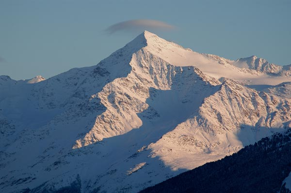 Il Bernina visto dall'' alto