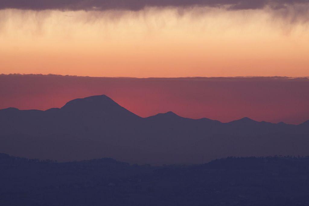 Evoluzione di un tramonto