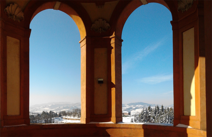 Dalle finestre di San Luca