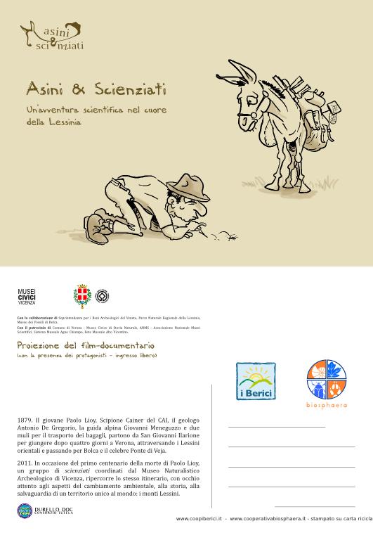 Asini e Scienziati - film/documentario sulla Lessinia