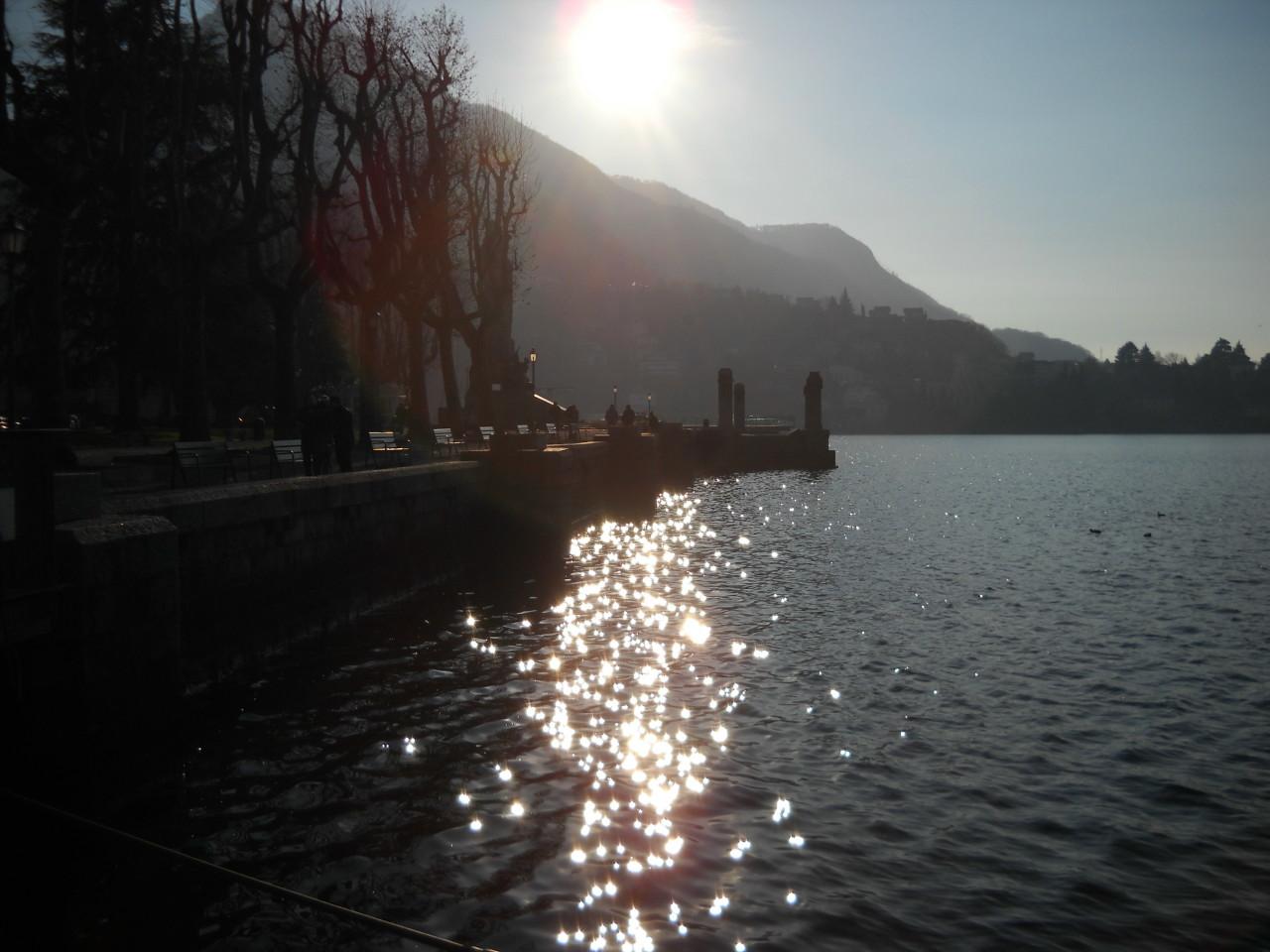 Scintillio.sul lago