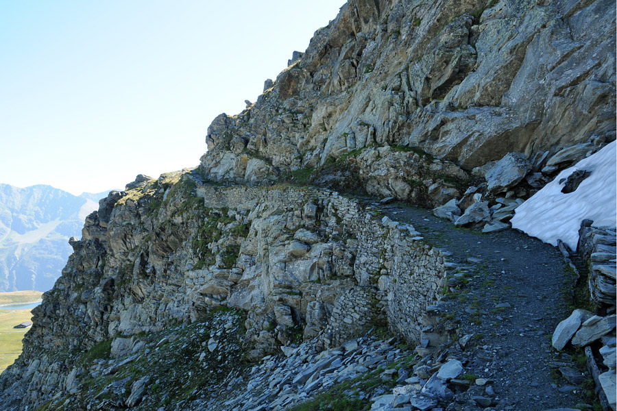 Dal Colle del Piccolo San Bernardo al Mont Valaisan