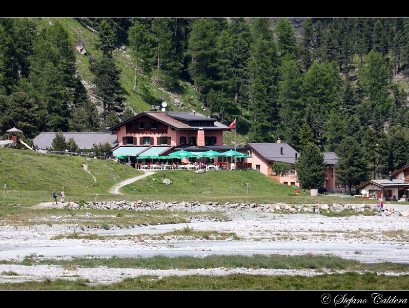 Piz Morteratsch, un balcone sul Bernina