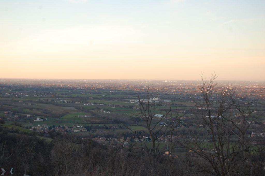 Vista dal Monte delle tre croci, Scandiano (RE)