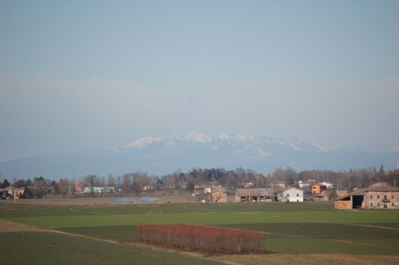 Le Alpi viste dal Bolognese