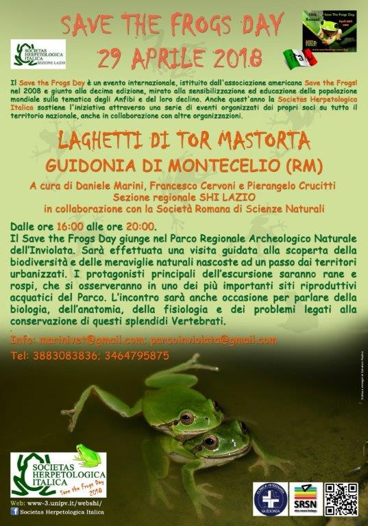 Save the Frogs Day - Laghetti di Tor Mastorta (Guidonia di Montecelio)