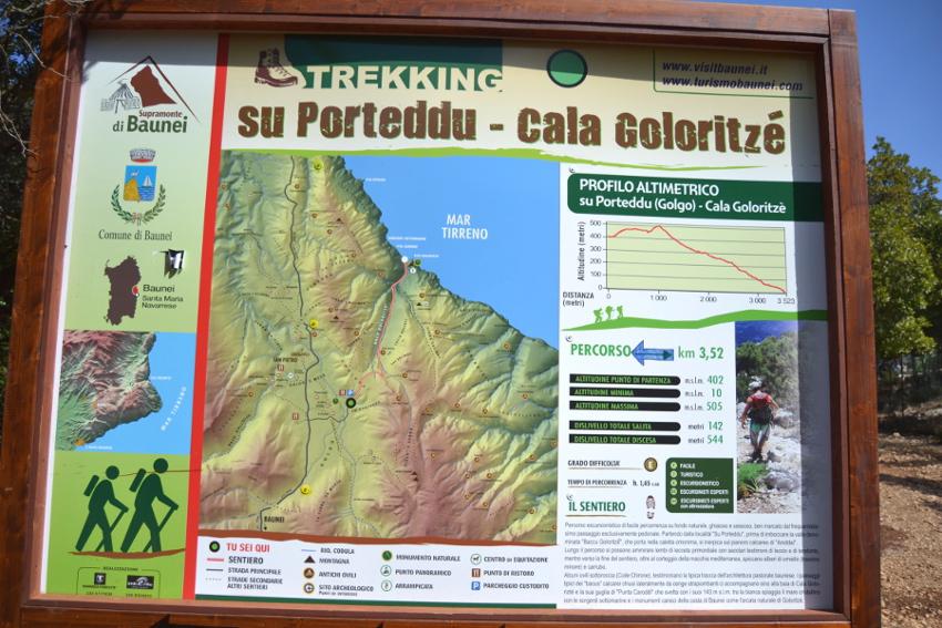 Escursione a Cala Goloritzè