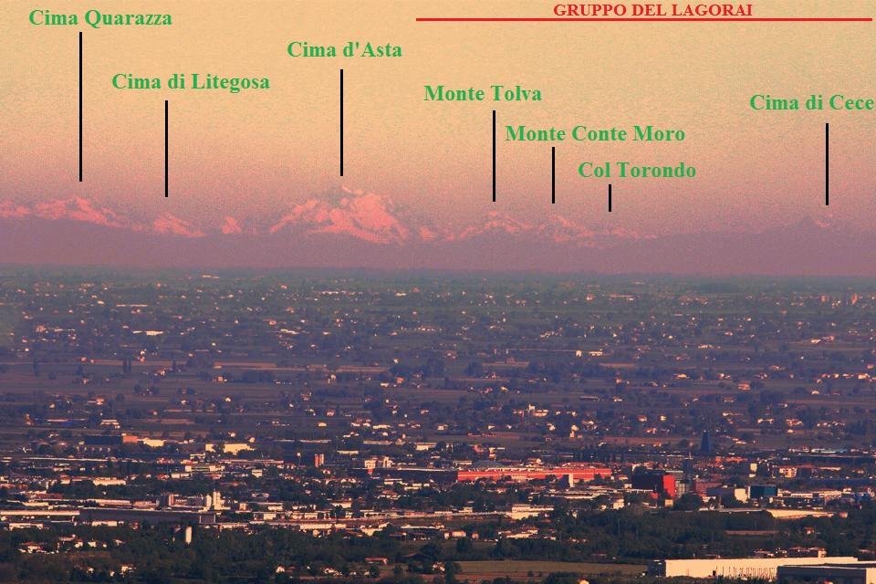 Gli Appennini visti da Bergamo