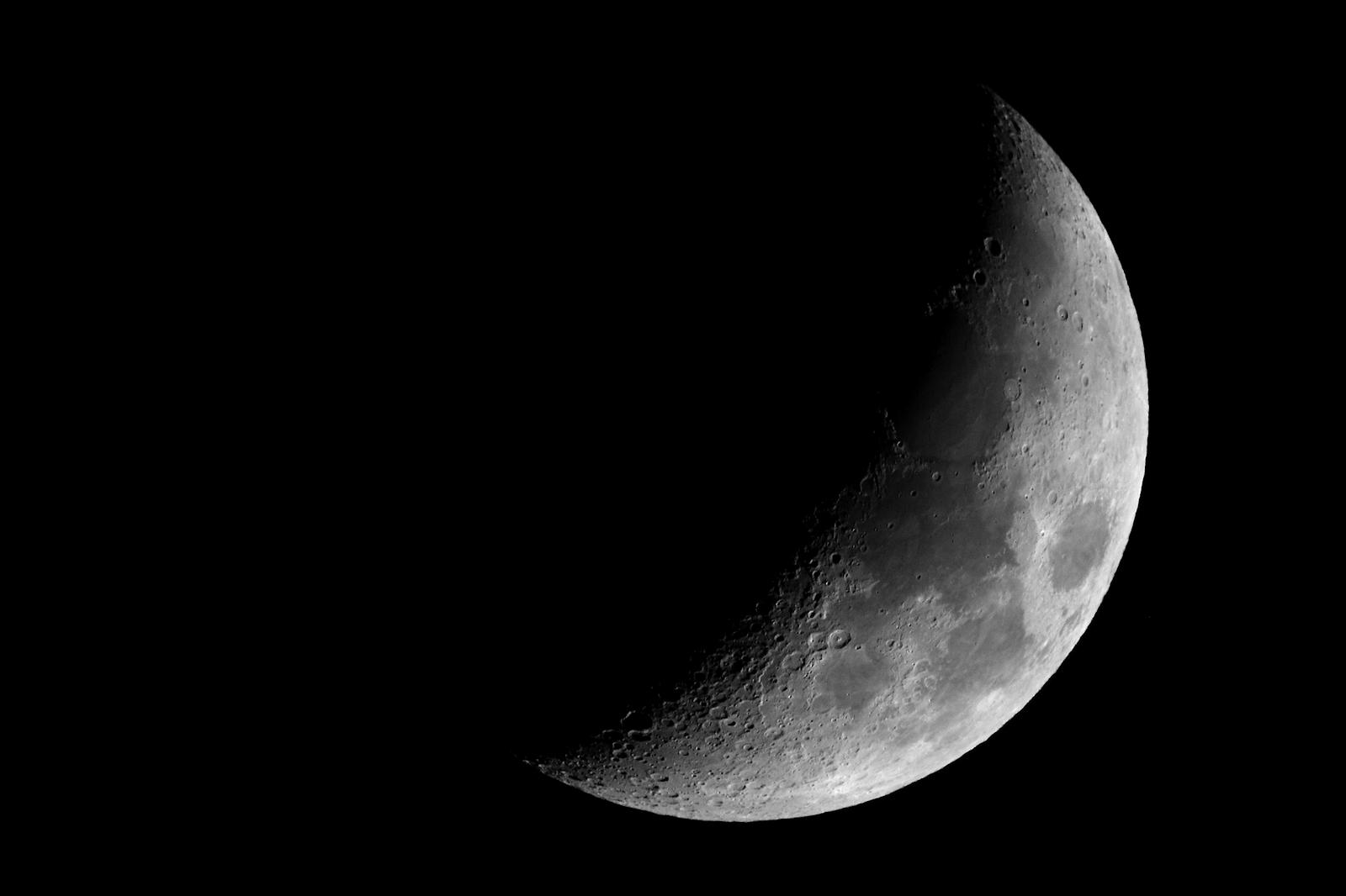 Spicchio di Luna...