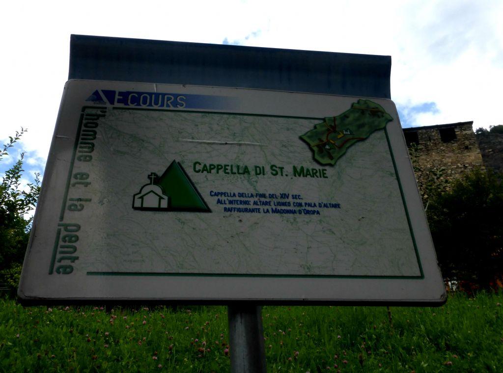 Il borgo di Ecours, nella Valdigne