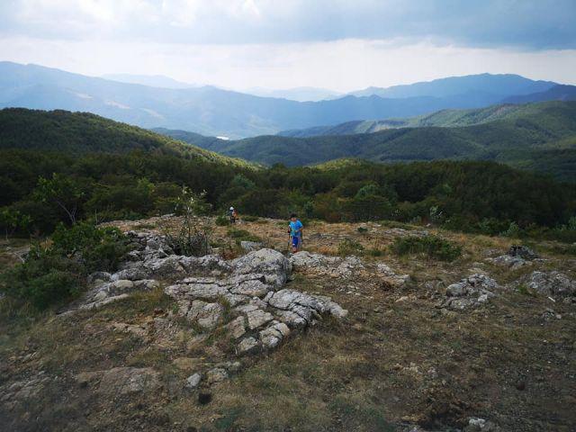 Rocca Bruna 1418m. - Appennino Ligure