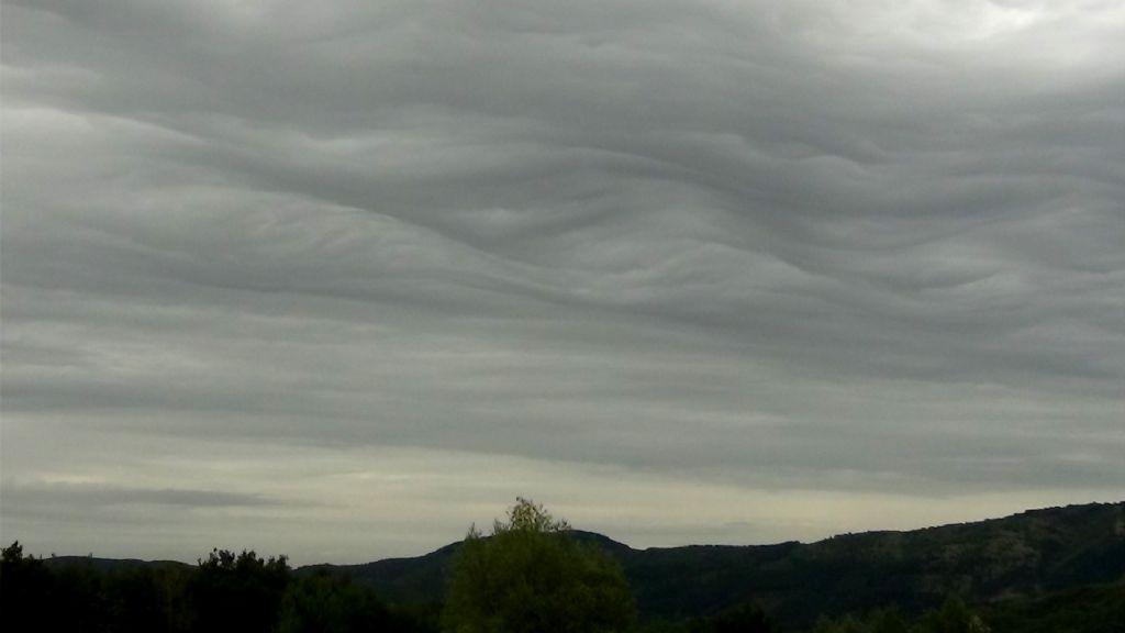 nuvole fuori del normale?