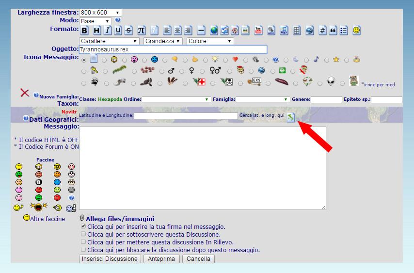 Istruzioni per l''uso: geolocalizzare un topic