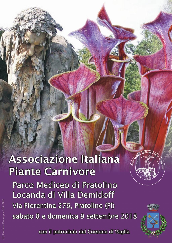 Meeting autunnale Associazione Italiana Piante Carnivore, 8-9 settembre 2018 (FI)