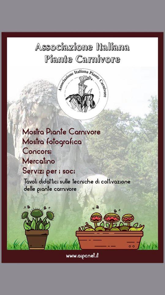 Meeting autunnale Associazione Italiana Piante Carnivore