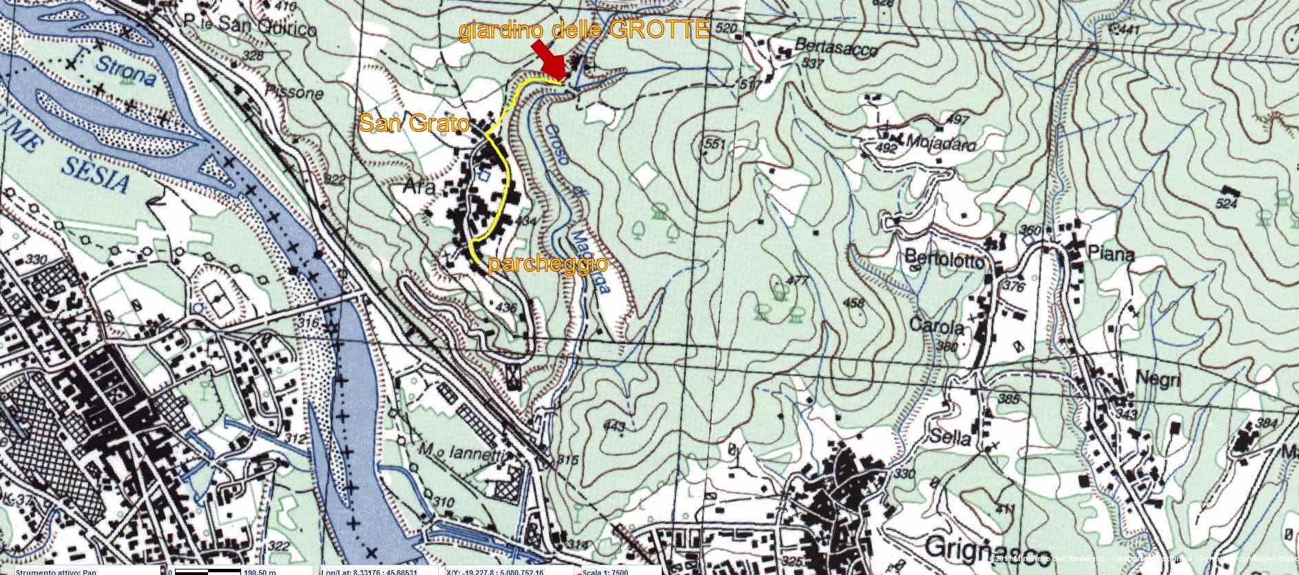 Il Giardino delle Grotte di Ara
