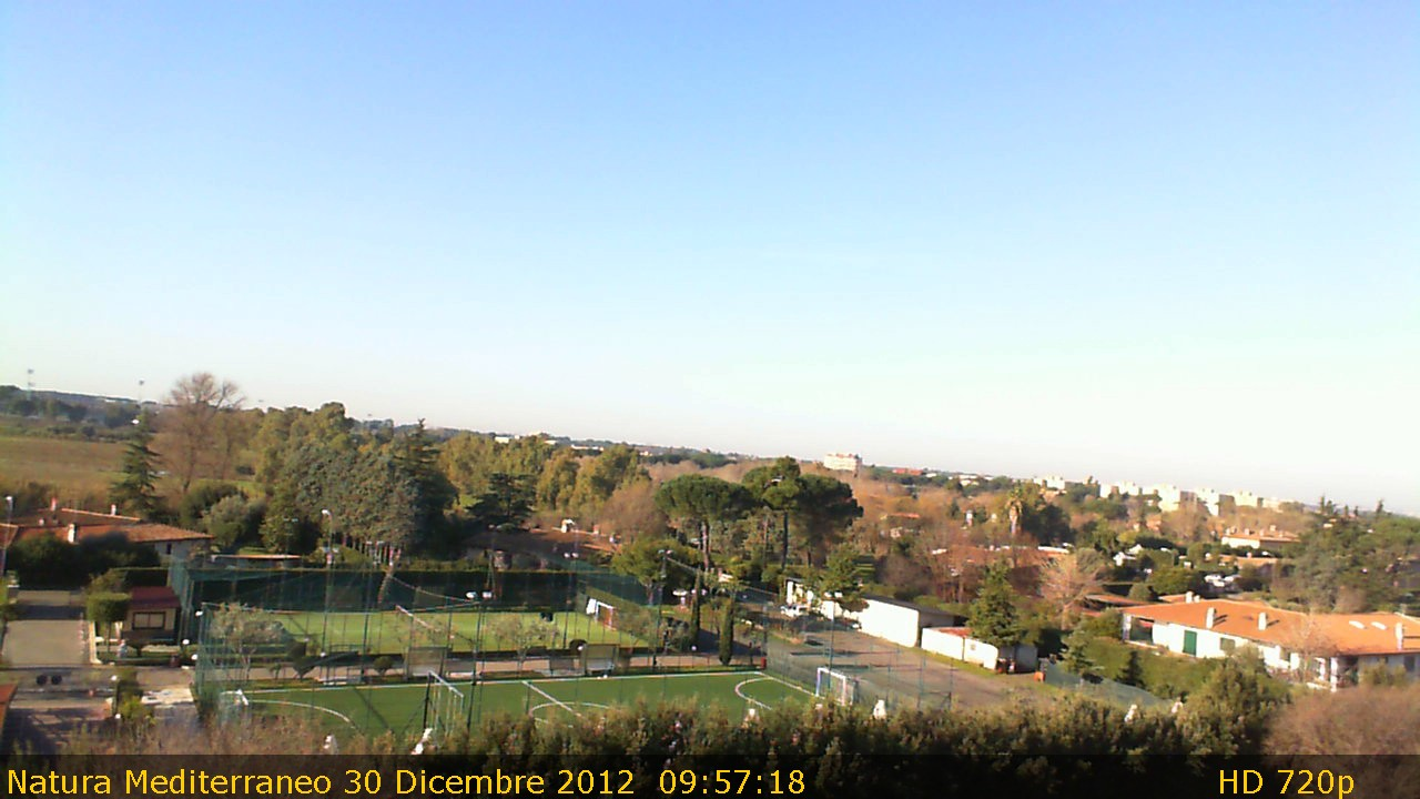 Webcam Capannelle Appia Antica
